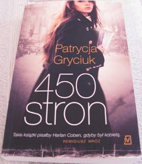 okładka książki 450 Stron