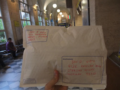 mail package from rome italy