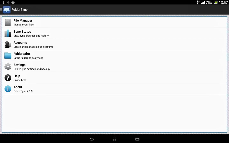 FolderSync v2.6.2