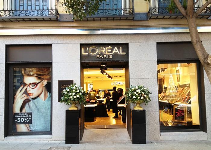 TIENDA LOREAL PARIS EN MADRID TALESTRIP