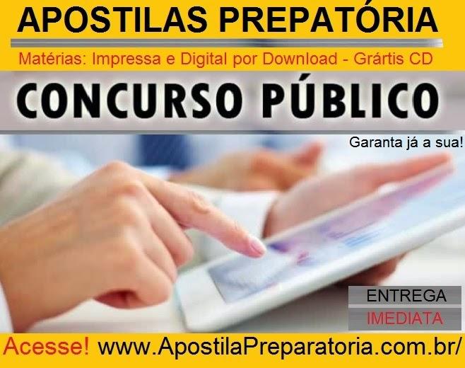 preparatória para concursos público Apostila grátis.