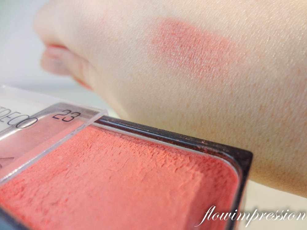 Artdeco Blush Swatch