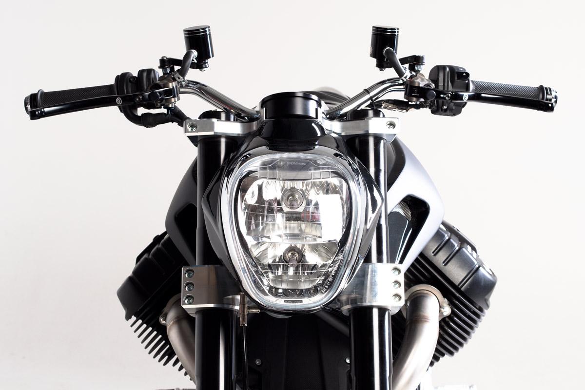 Millepercento Officine Rossopuro Scighera Moto Guzzi