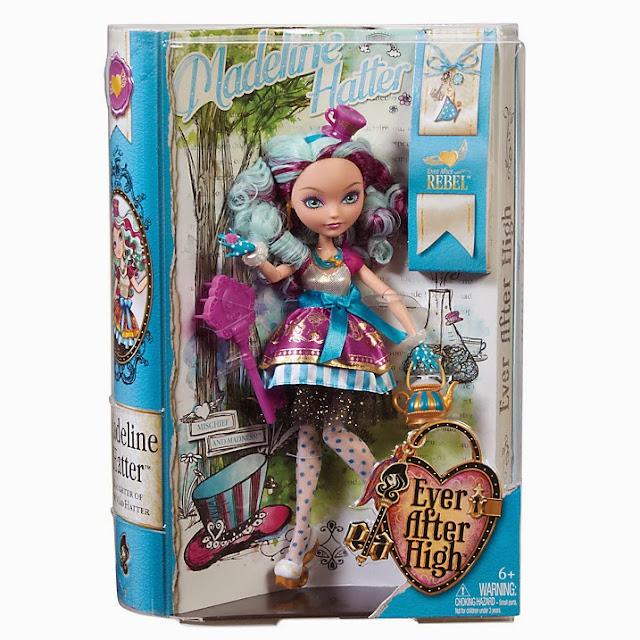 Muñeca Madeline Hatter caja