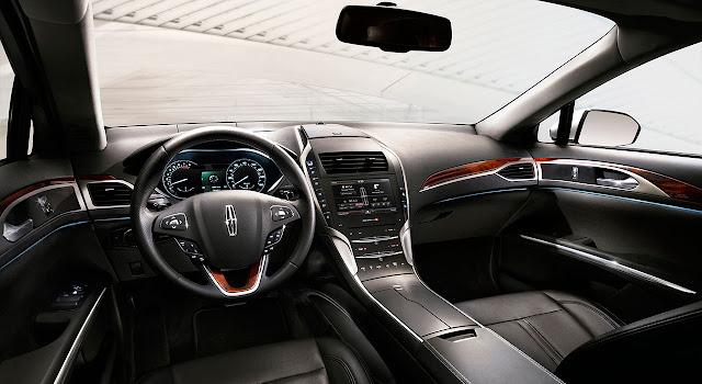Lincoln MKZ 2013 interior