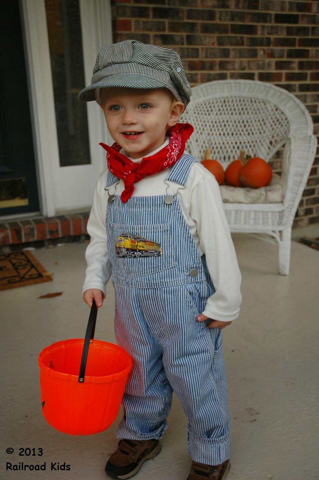 Halloween Costume Train Engineer Redux  sc 1 st  Railroad Kids & Railroad Kids: Halloween Costume: Train Engineer Redux