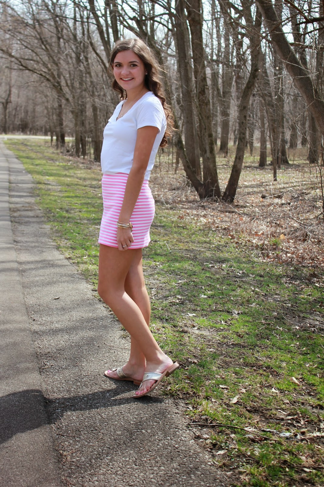 Lilly Pulitzer Tate Striped Skirt by Anchors and Pearls