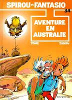 Spirou et Fantasio Aventure en Australie