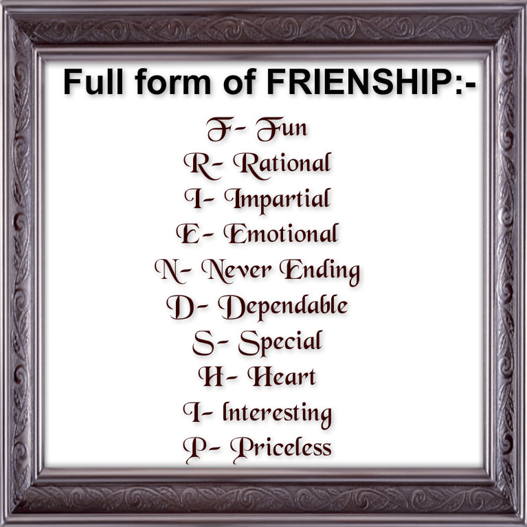 Awesome Quotes: Happy friendship day