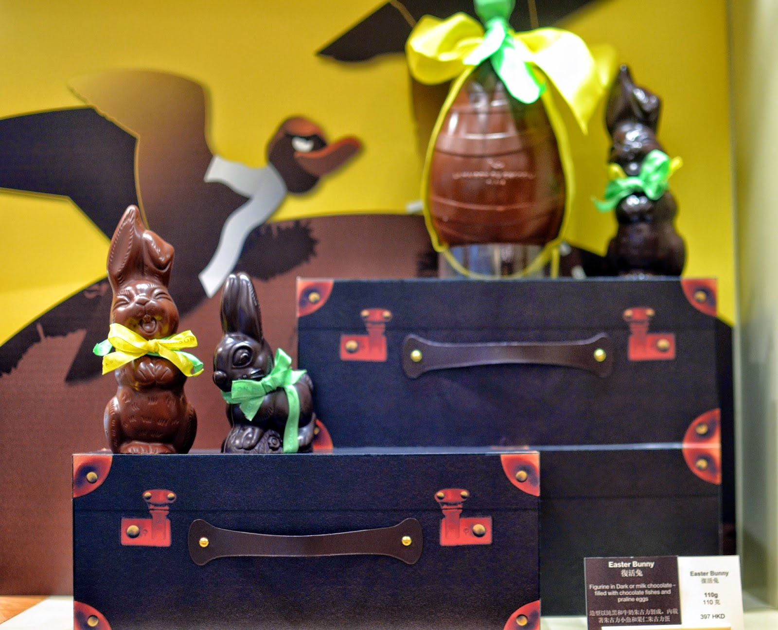 La maison du chocolat easter collection 2015 hong kong hungry easter bunny negle Image collections