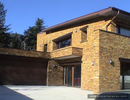 Decoraciones y mas hermosas casas con fachada de piedra en el 2013 - Piedras para fachadas de casas ...