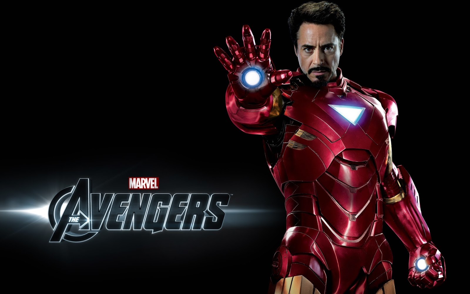 Iron Man in The Avengers Movie Wallpaper HD
