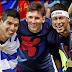 """Luis Enrique: """"Talvez o MSN seja o melhor trio de ataque da história""""."""