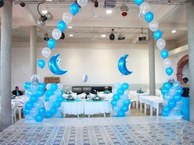 Decoracion de baby shower con globos decorando mejor - Decoracion con bombas para baby shower ...