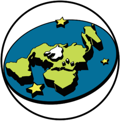 Flat Earth Society Logo