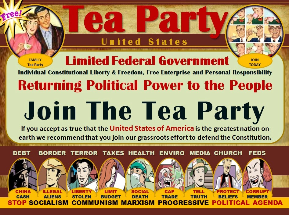 Join The Tea Party Save Your Children