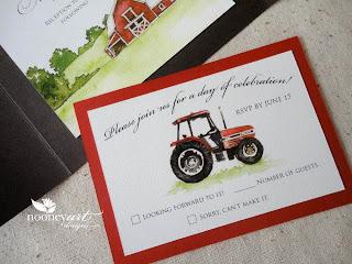 Broken Color Art And Design Journal Farm Themed Wedding
