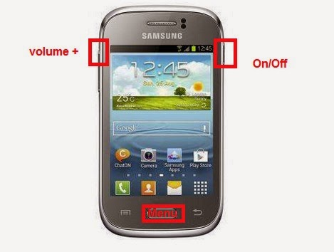 Samsung Galaxy Young GT S6310 Hard Reset