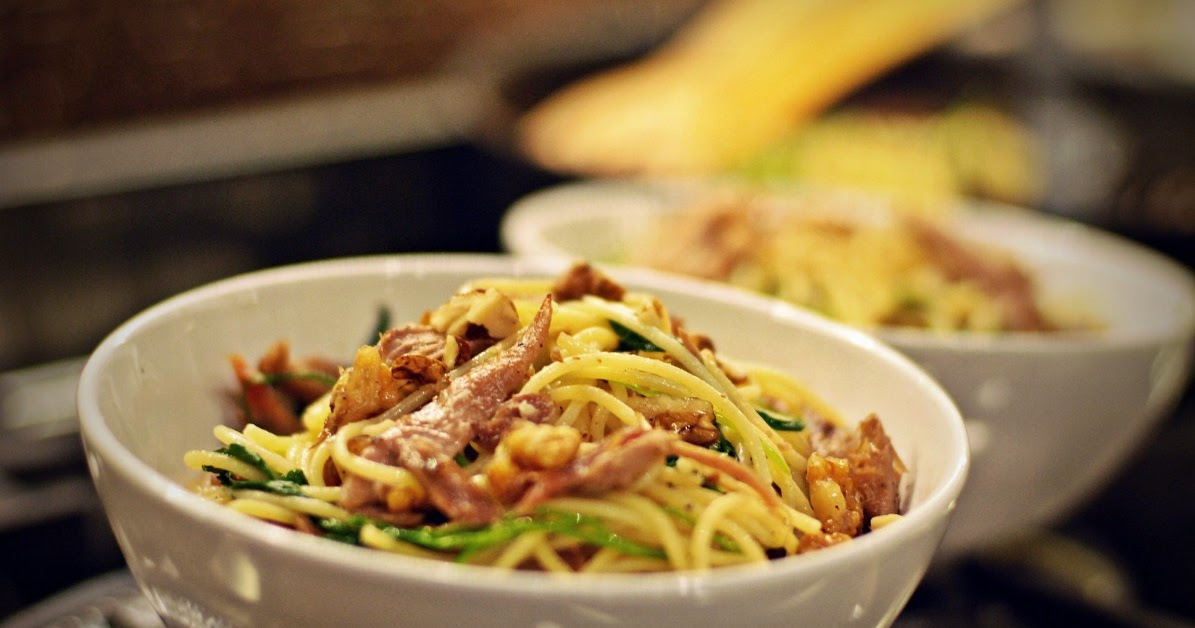 Buttered Up: A slow-roasted duck pasta for the sensible