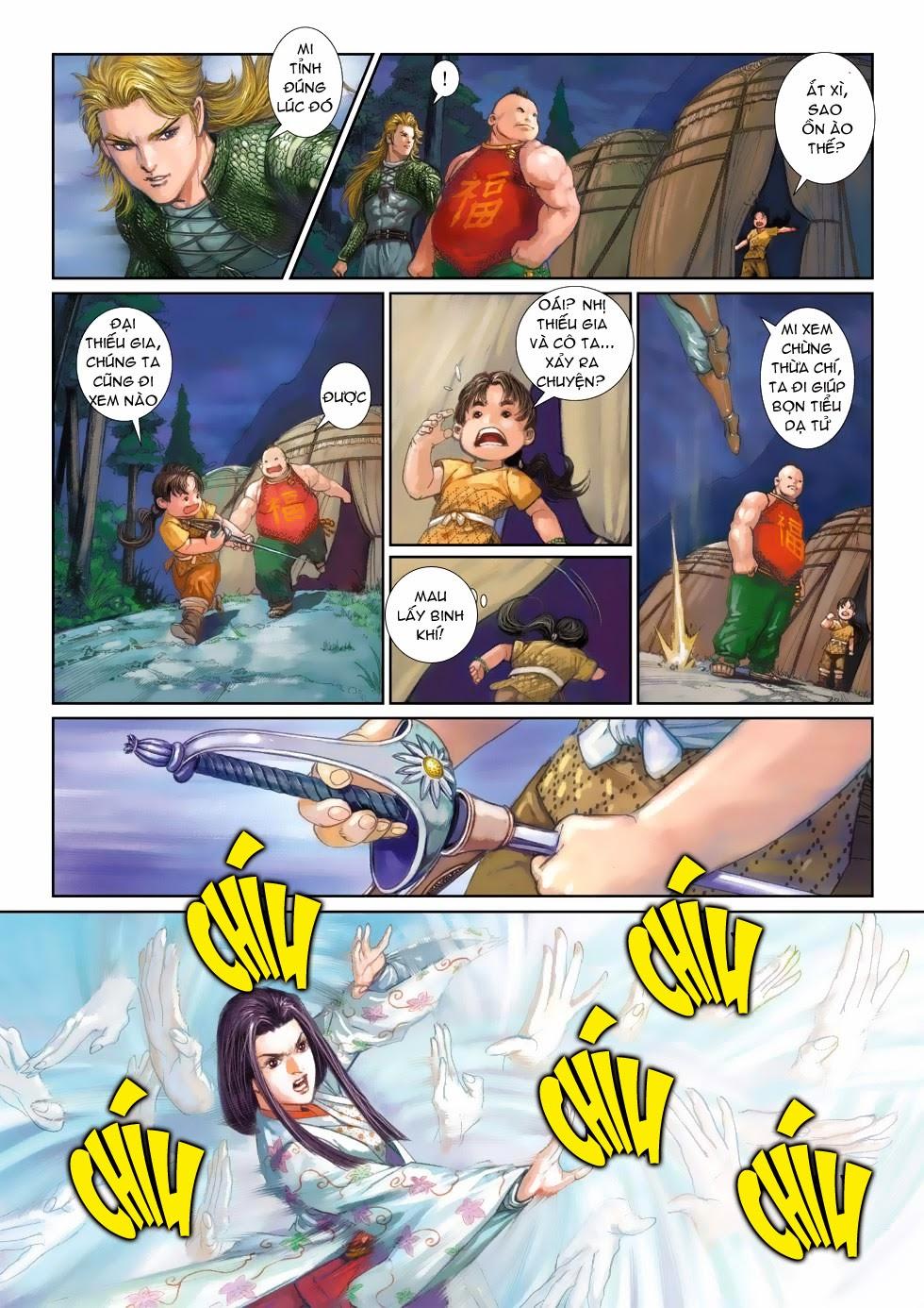 Thần Binh Tiền Truyện 4 - Huyền Thiên Tà Đế chap 3 - Trang 27