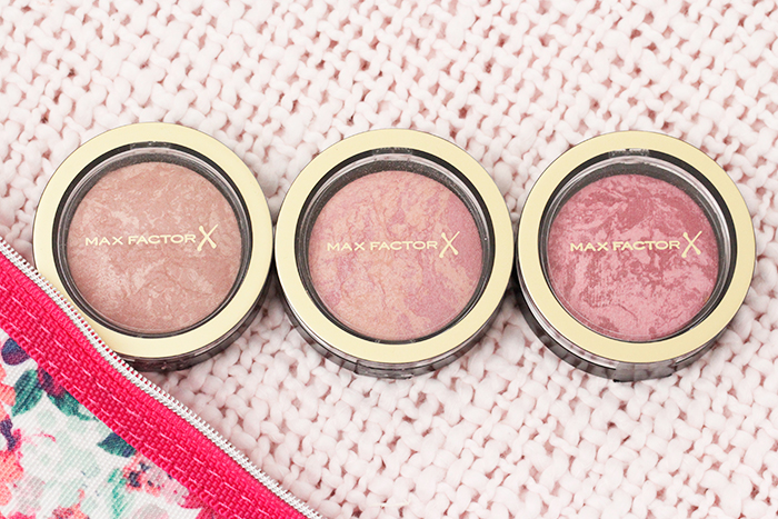 Max Factor Pastell Compact Blushes Mini Review