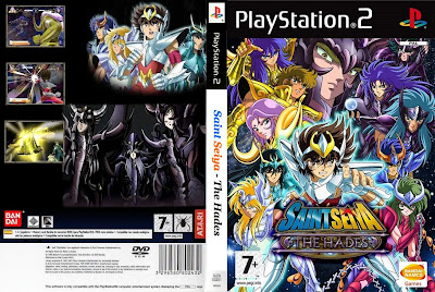 Saint Seiya The Hades PS2 DVD Capa