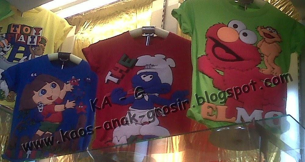Kaos Anak Grosir KA G Kaos Karakter Elmo