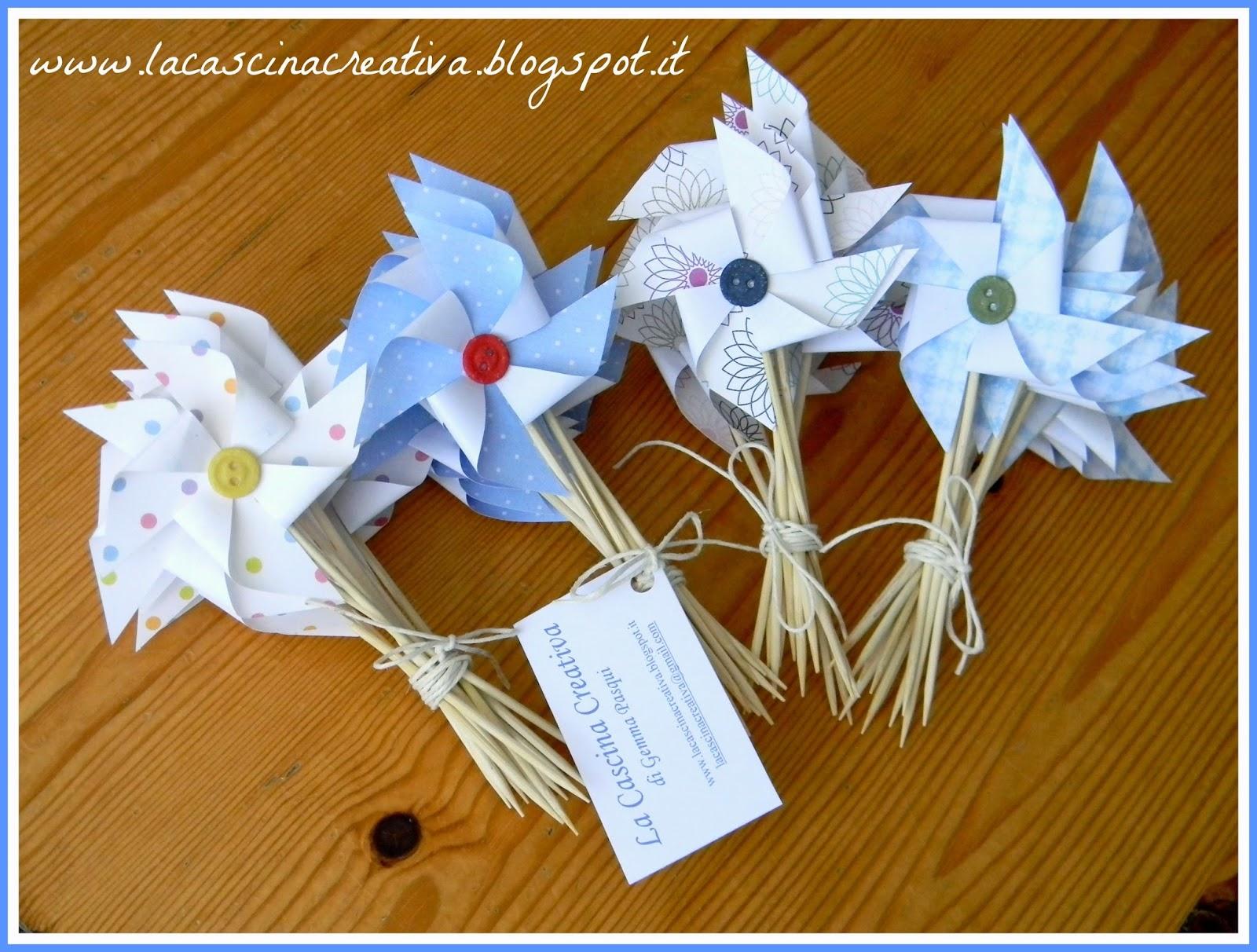 Pinwheel Origami