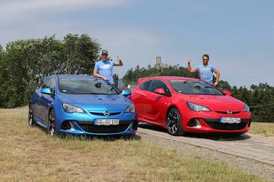 Espargarò και Cardús Οδηγούν το Opel GTC OPC στο Nürburgring
