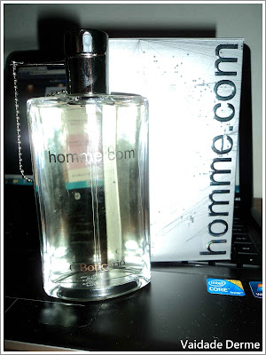 Perfume Homme.com do O Boticário