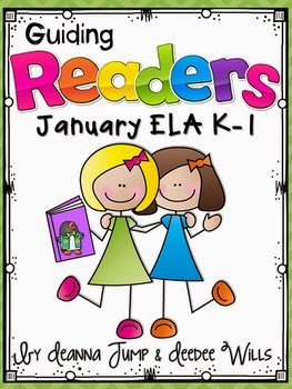 https://www.teacherspayteachers.com/Product/Guiding-Readers-January-No-Prep-ELA-unit-for-K-1-1620201