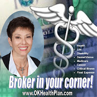 Broker in your corner!  www.OKHealthPlan.com