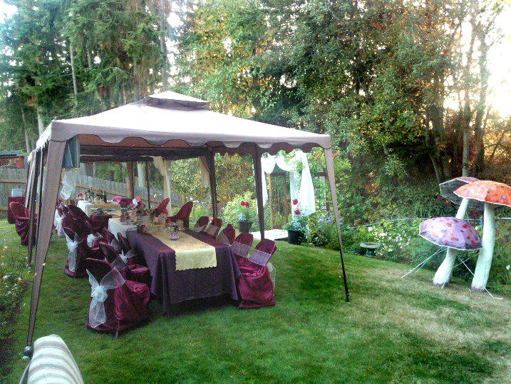 Garden Backyard Wedding : My Petal Press Garden Blog Backyard Wedding