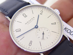 NOMOS GLASHUTTE TANGENTE - MANUAL WINDING