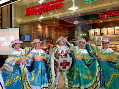 #KKnowinSMSeaside, Krispy Kreme Doughnuts, Krispy Kreme SM Seaside City, SM Seaside City, Original Glazed, San Diego Dance Company