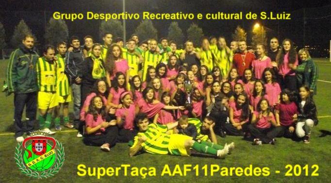 SuperTaça AAF11Paredes - 2012