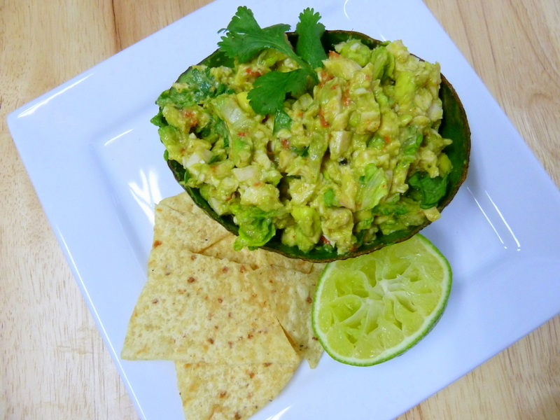 Cookin' Cowgirl: Avocado Chicken Salad in Avocado Boats