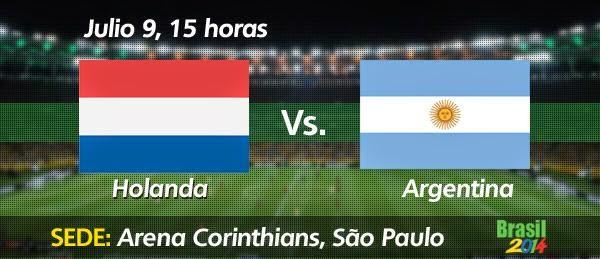 Holanda vs Argentina
