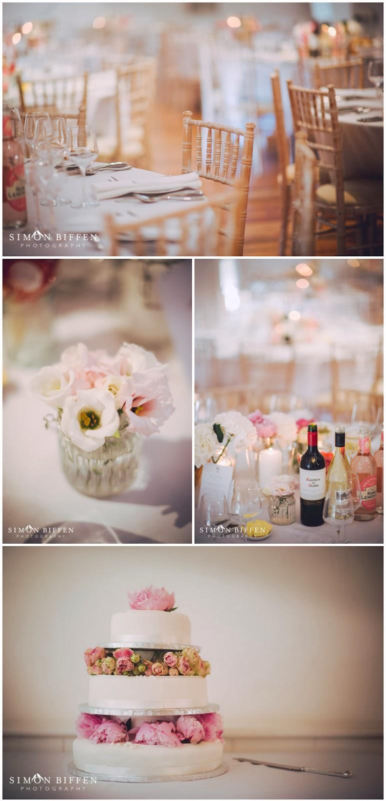 Pennard House wedding tables