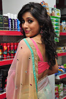 Rashmi Gautam Latest 2016  Stills In Pink Saree (7).JPG