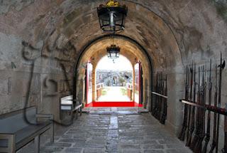 Imagen 2: ubicación del haha en la puerta principal del Real Fuerte de la Concepción (Aldea del Obispo, Salamanca)
