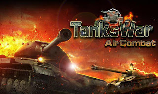 Screenshots of the Tanks war: Air combat for Android tablet, phone.