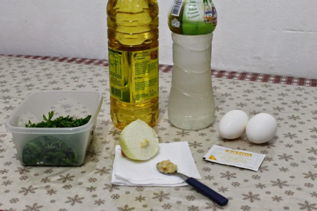 Maravilhas da cozinha: Molho verde
