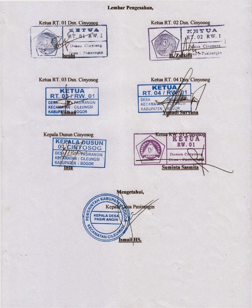 Karang Taruna Unit Rw 01 Desa Pasirangin Cileungsi Bogor