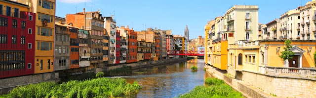 Rio Oñar a su paso por Girona