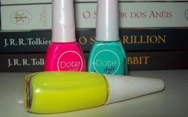 Flours, Matteflours, Impala; Atrevida, da coleção Dote Style, Dote; Charmosa, da coleção Dote Style, Dote