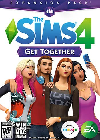 The Sims 4 Get Together Addon Download for PC-DLC