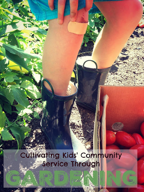 Cultivating Kids' Community Service Through Gardening