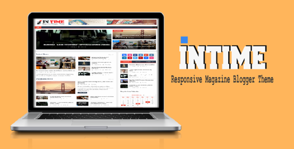 Intime - Free Responsive Magazine Blogger Template 2015