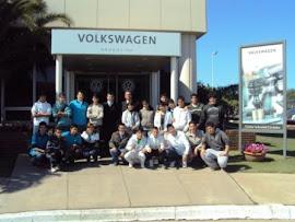 Visita a planta de Volkswagen
